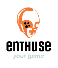Enthuse: Video Game Retailer Logo