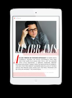 Revere Magazine Article Layout