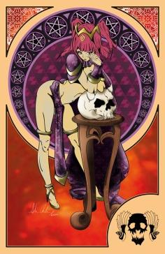 Art Nouveau Inspired Illustration